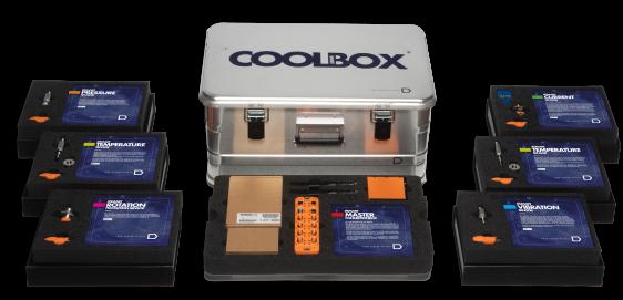 Smart CoolBox met diverse sensoren